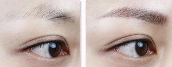 韩式纹眉术 你也可以拥有韩国明星的漂亮眉形