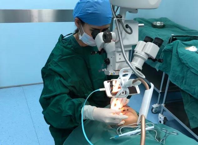 上海美莱杜园园教授手术
