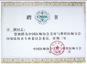 中国医师协会内窥镜技术专业委员会委员