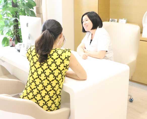 上海美莱吴淑琴医师面诊过程