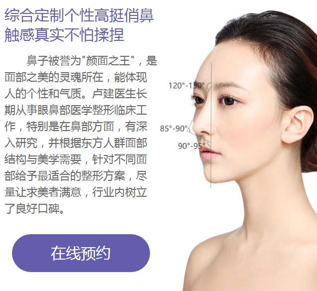 上海美莱卢建个性定制高挺美鼻