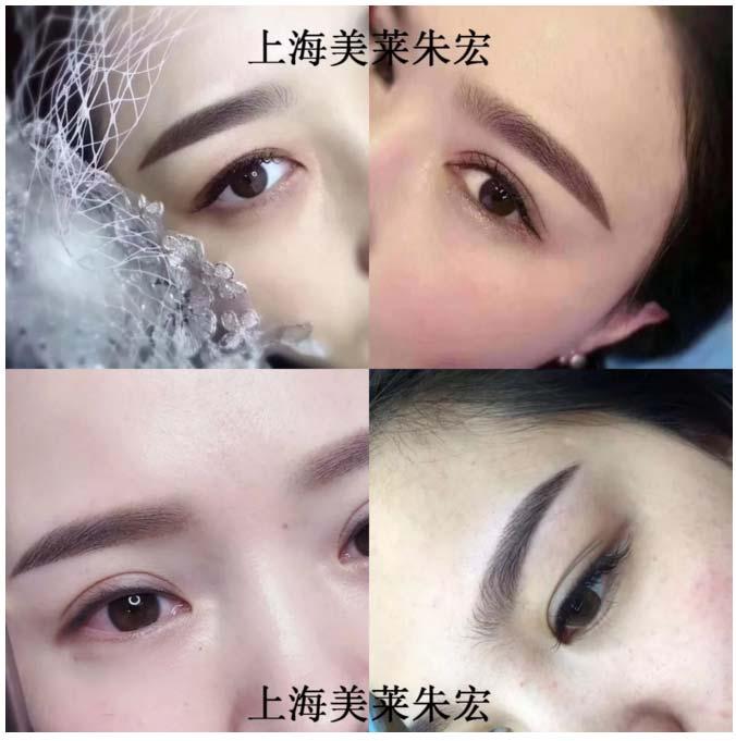 上海美莱纹绣女神朱宏|荣获K-BEAUTY奥林匹克冠军