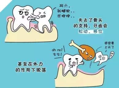 牙齿松动特别历害还能固定吗