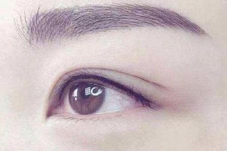 纹眼线效果