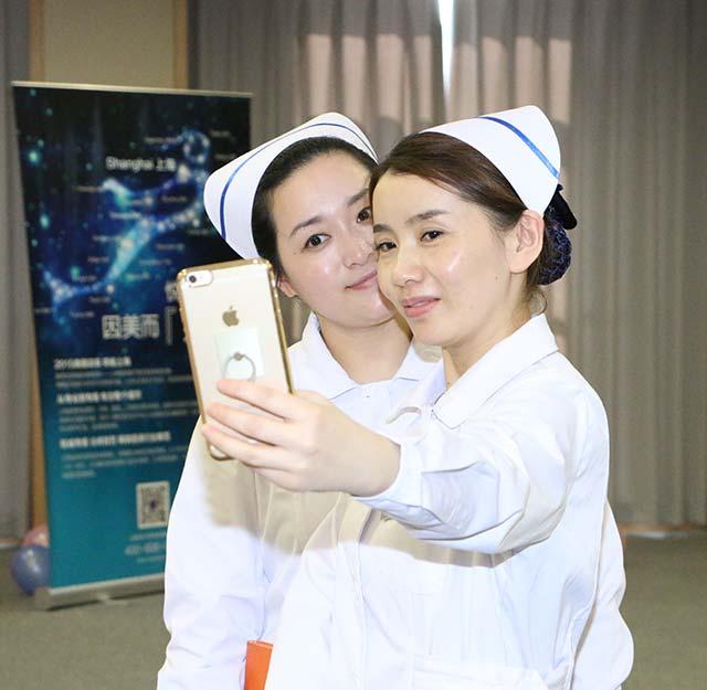 可爱的护士们